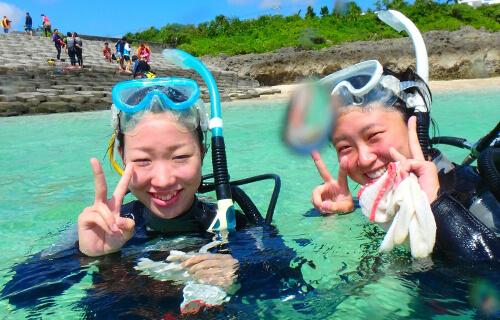 宮古島ウミガメ体験ダイビングフォトツアー01